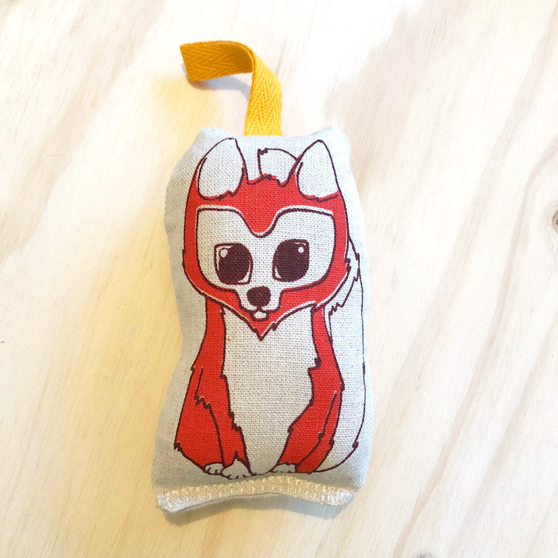 lil leigh designs rattle 'fox'