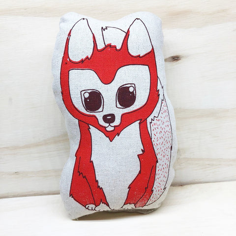 lil leigh designs plush teddy 'fox' small