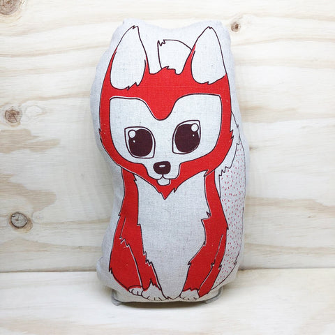 lil leigh designs plush teddy 'fox' large