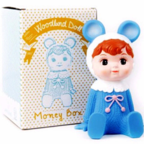 LAPIN & ME MONEY BOX BLUE