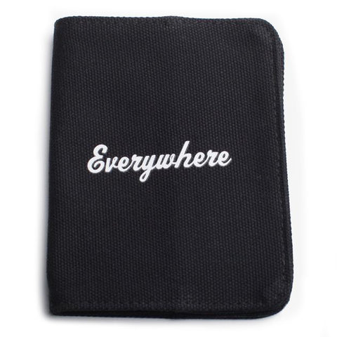 izola passport holder 'everywhere' black