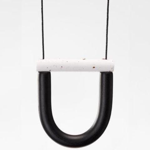 jack by sam necklace 'black pepper'