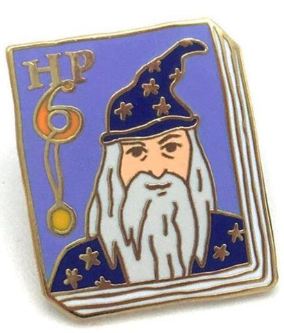 jane mount enamel pin 'harry potter book 6'