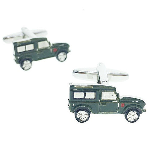 cufflinks 'jeep off-roader' - the-tangerine-fox