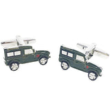 cufflinks 'jeep off-roader'