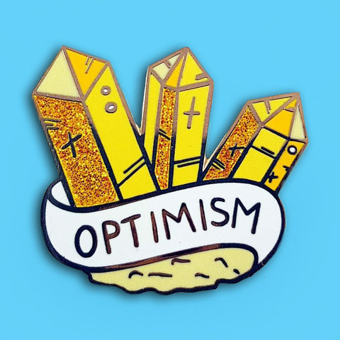 jubly-umph enamel pin gem of optimism