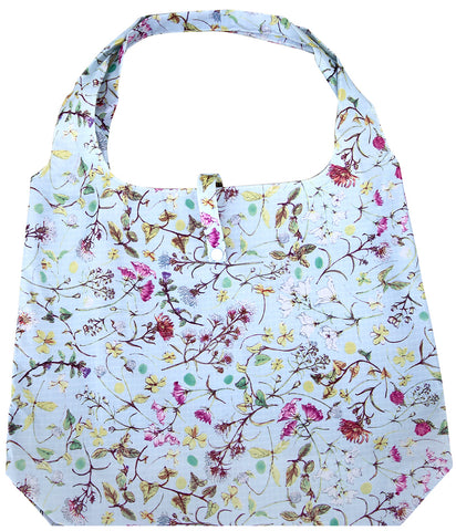 gifted hands shopping bag 'garden blue'