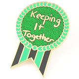 jubly-umph enamel pin 'keeping it together'