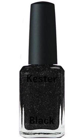 kester black nail polish 'black diamonds'
