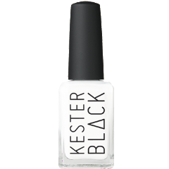 KESTER BLACK NAIL POLISH 'FRENCH WHITE'