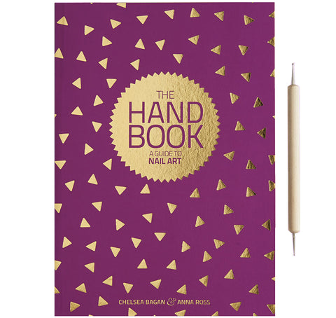 kester black 'the hand book guide to nail art' - the-tangerine-fox