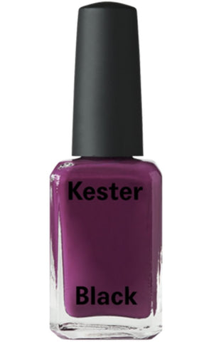 kester black nail polish 'poppy'