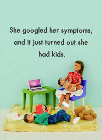jeffrey & janice greeting card 'googled symptoms'