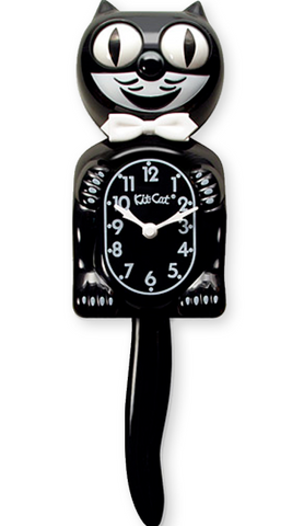 kit-cat clock 'classic black' - the-tangerine-fox