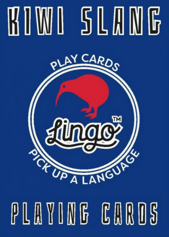 ginger fox game 'lingo playing cards kiwi slang' - the-tangerine-fox