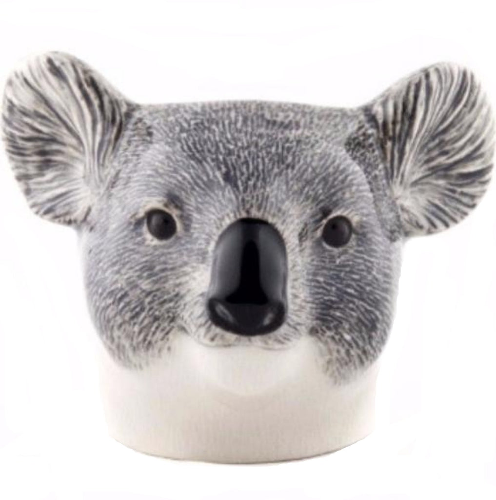 quail ceramics face egg cup 'koala' - the-tangerine-fox
