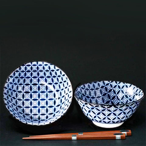 concept japan 2 bowl set 'kumishippou'