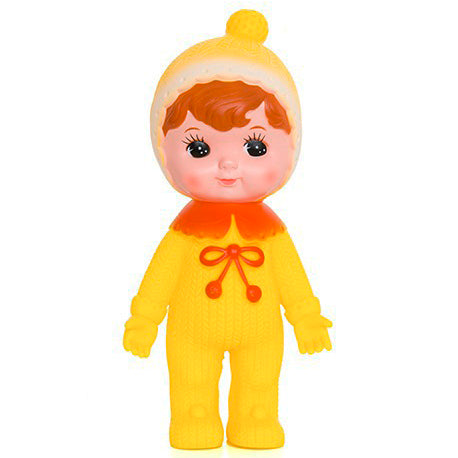 lapin & me 'woodland doll' yellow - the-tangerine-fox