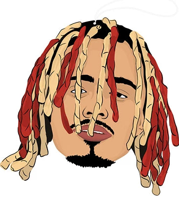 pro and hop air freshener 'lil pump'