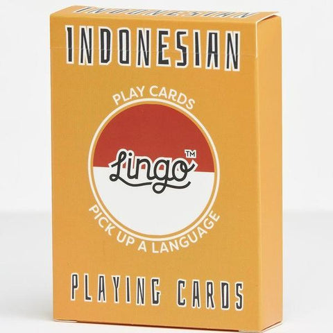 lingo playing cards 'indonesian'