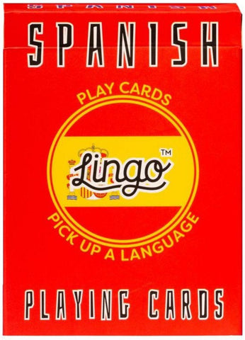 ginger fox game 'lingo playing cards spanish'