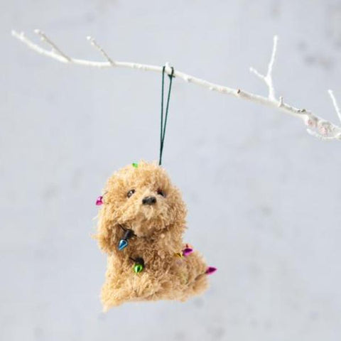christmas ornament 'little dog'