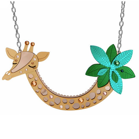 little moose necklace 'giraffe' large - the-tangerine-fox