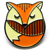 lost lust supply enamel pin 'fox' - the-tangerine-fox