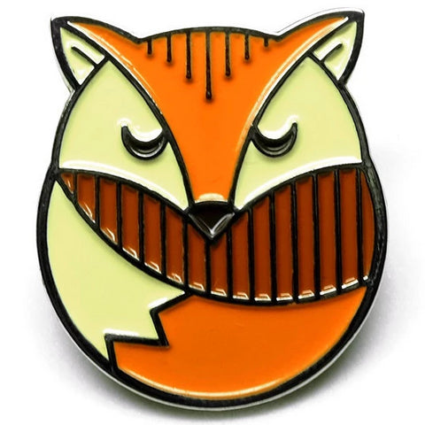 LOST LUST SUPPLY 'FOX' ENAMEL PIN