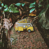 LOST LUST SUPPLY CAMPERVAN ENAMEL PIN - the-tangerine-fox
