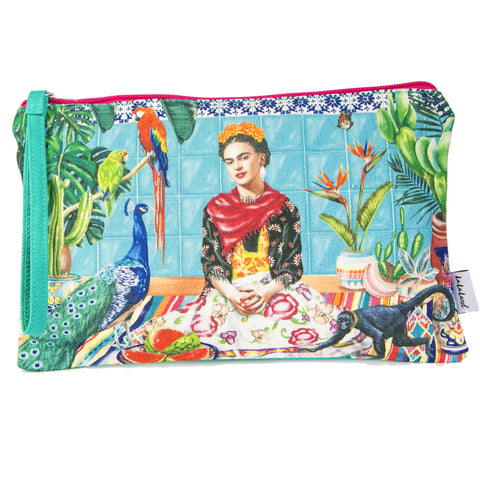 la la land clutch purse 'frida's paradise'