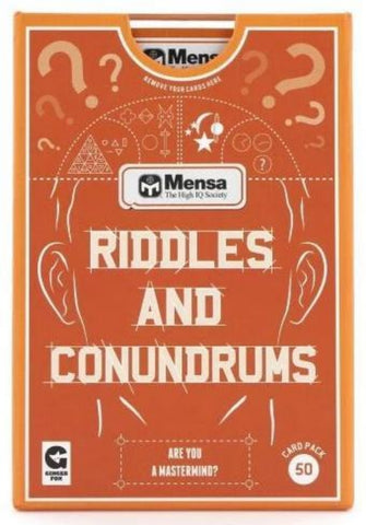 ginger fox game 'mensa riddles & conundrums'