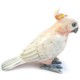 miniature ceramic 'pink cockatoo' - the-tangerine-fox