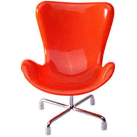 miniature chair 'replica retro' 1:6 scale orange - the-tangerine-fox