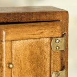 miniature 'kitchen dresser' walnut