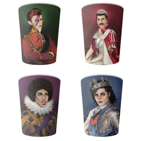 la la land melamine cup set 'music royalty'