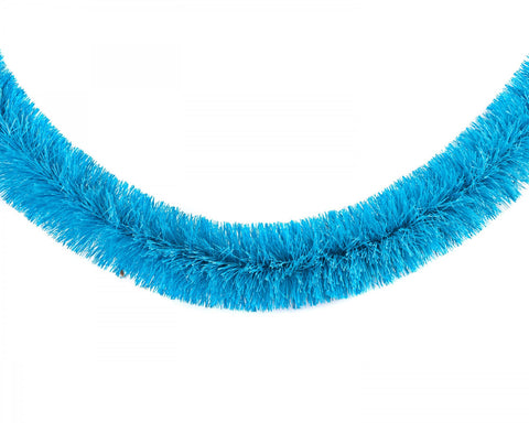 acorn & will christmas garland 'neon blue'