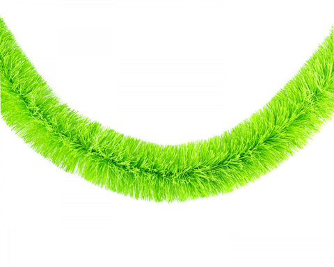 acorn & will christmas garland 'neon green'
