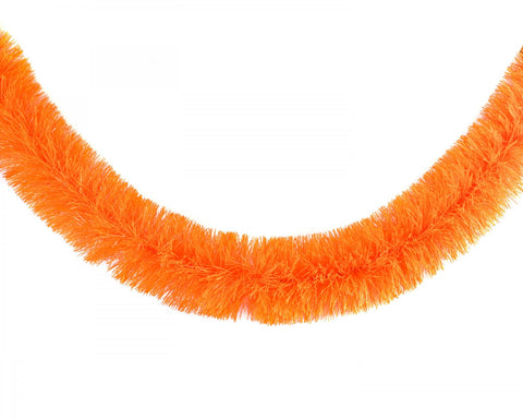 acorn & will christmas garland 'neon orange'