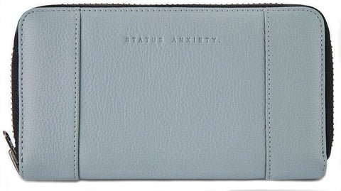 status anxiety wallet 'state of flux' arctic grey