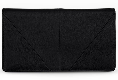 status anxiety wallet 'triple threat' black