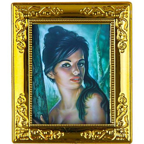 miniature picture frame 'j.h. lynch tina' painting gold
