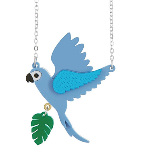 little moose necklace 'parrot' small