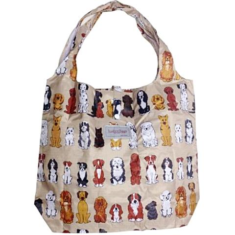 gifted hands shopping bag 'paws' almond