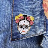 THE FOUND 'FRIDA DAY OF THE DEAD' ENAMEL PIN