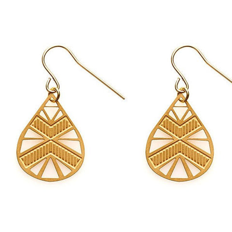 POLLI LUNA EARRINGS GOLD