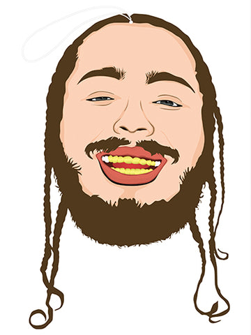 pro and hop air freshener 'post malone'