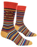 blue q men's socks 'pretty decent boyfriend'