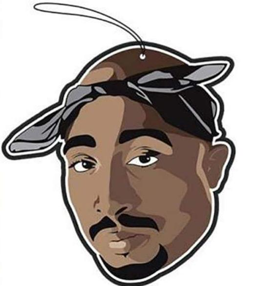 pro and hop air freshener '2pac' - the-tangerine-fox