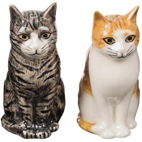 quail ceramics salt & pepper 'patience & squash' - the-tangerine-fox